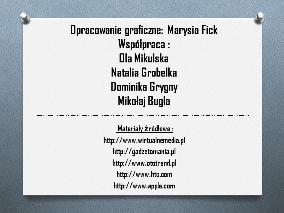 Opracowanie graficzne: Marysia Fick Współpraca : Ola Mikulska Natalia Grobelka Dominika Grygny Mikołaj Bugla