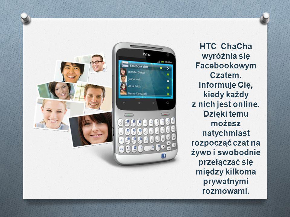 HTC ChaCha wyróżnia się Facebookowym Czatem