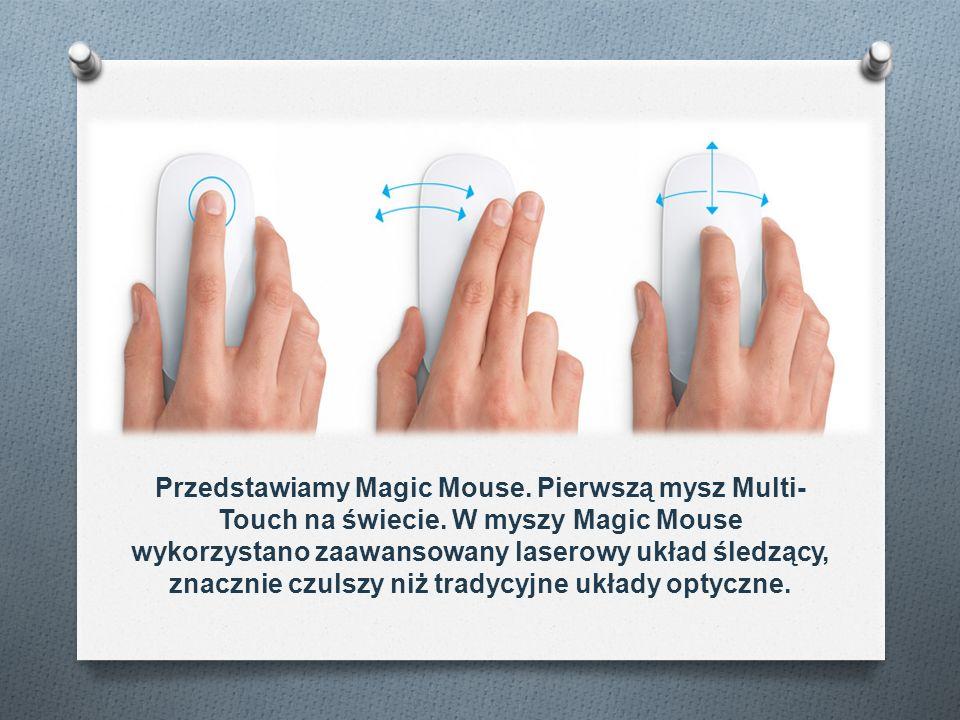 Przedstawiamy Magic Mouse. Pierwszą mysz Multi-Touch na świecie