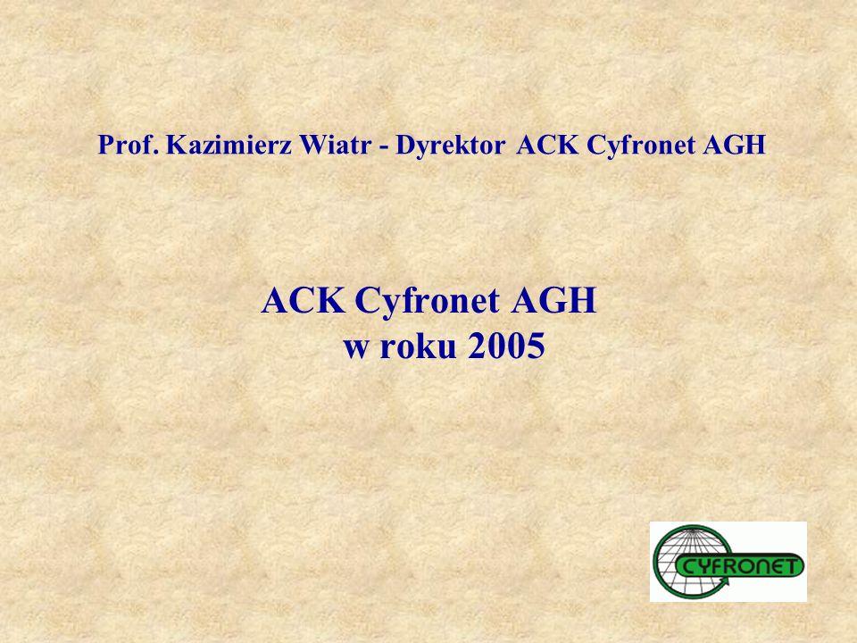Prof. Kazimierz Wiatr - Dyrektor ACK Cyfronet AGH