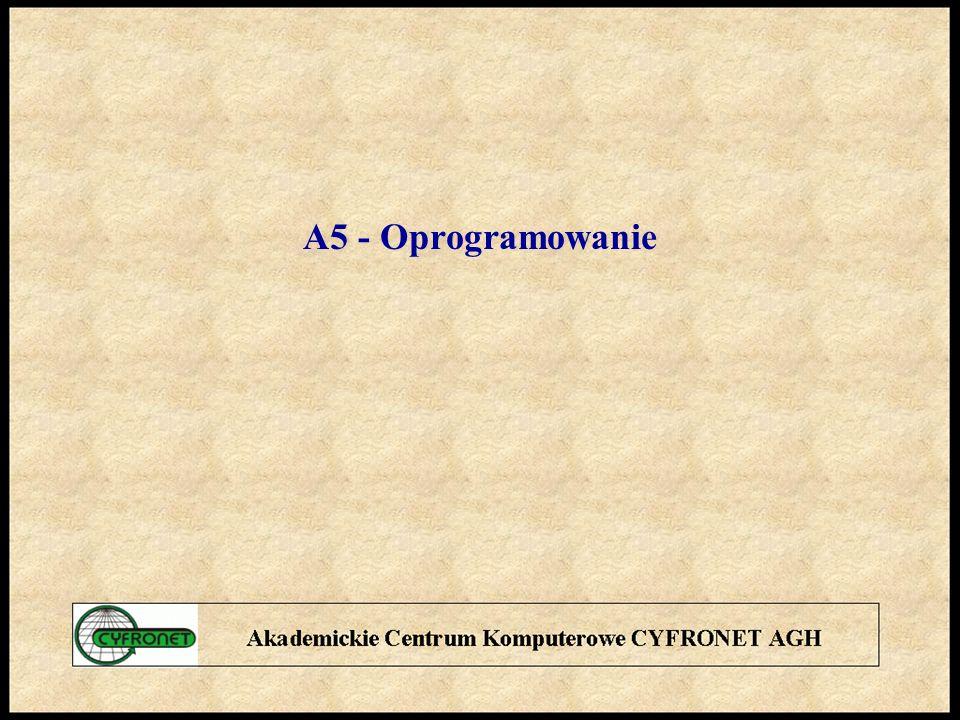 A5 - Oprogramowanie