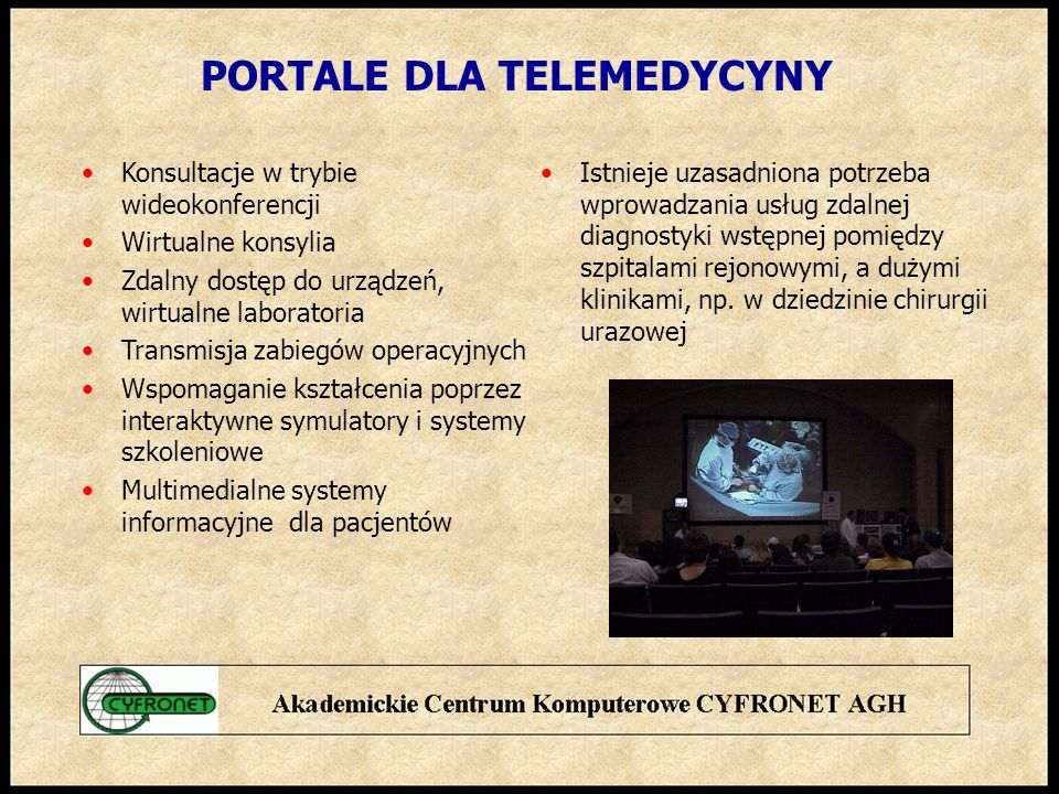 PORTALE DLA TELEMEDYCYNY