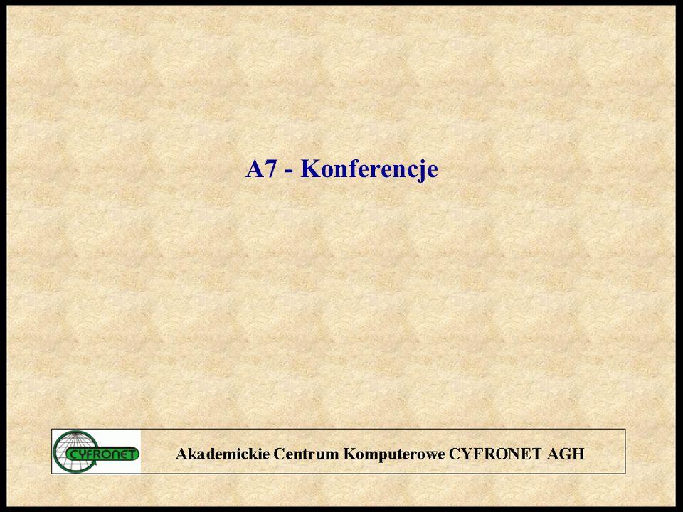 A7 - Konferencje