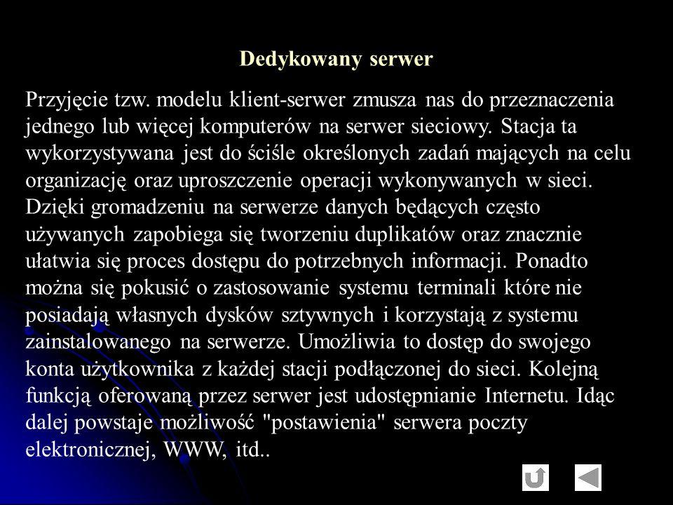 Dedykowany serwer