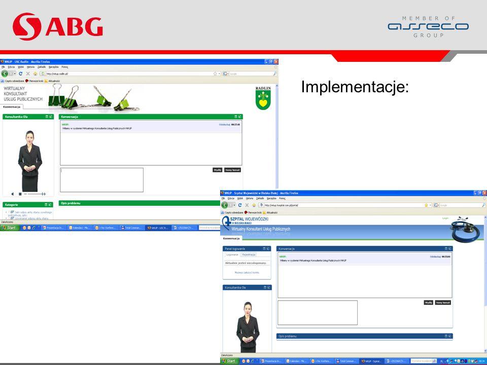 Implementacje: Projekt WKUP i jego wyniki 16 www.abg.com.pl 16