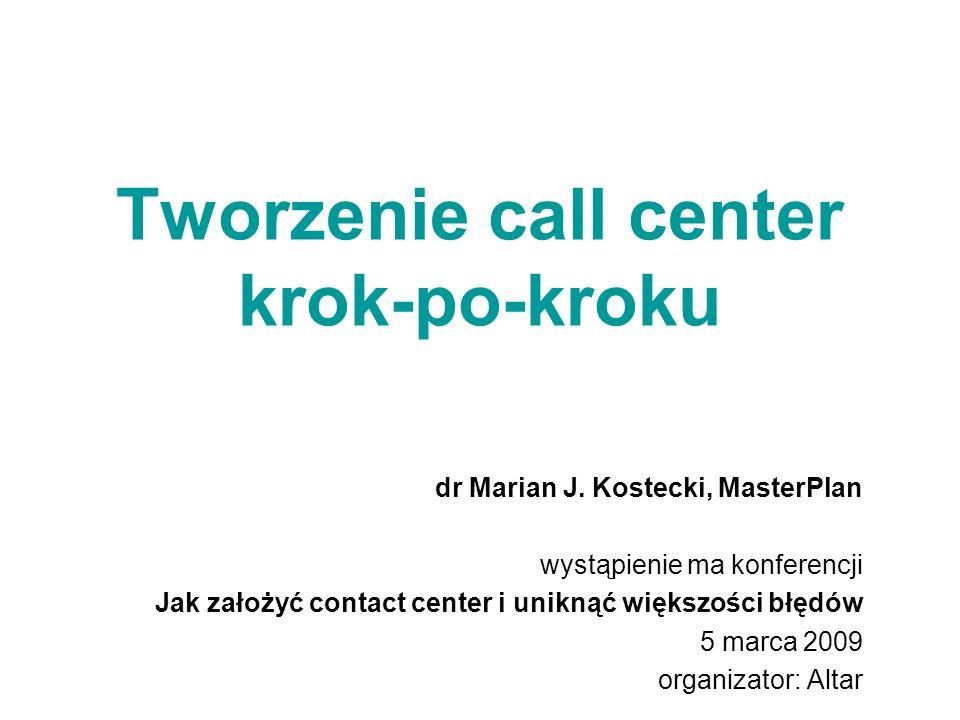 Tworzenie call center krok-po-kroku