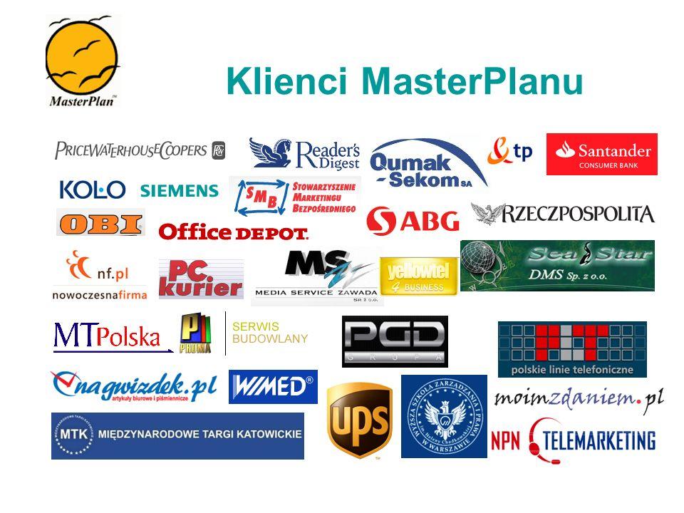 Klienci MasterPlanu