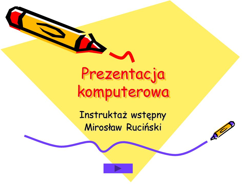 Prezentacja komputerowa