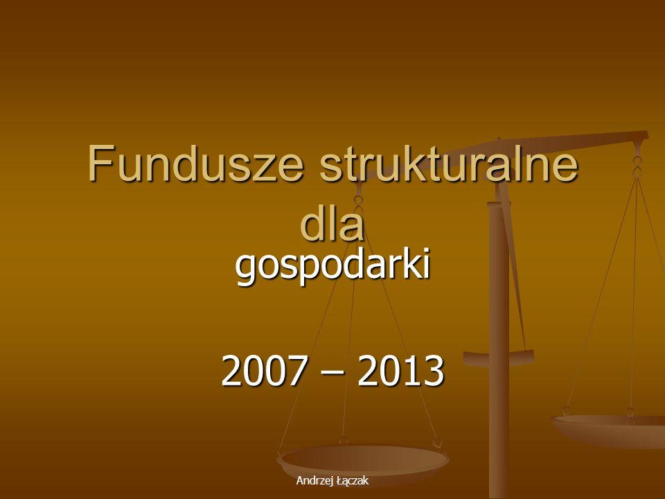 Fundusze strukturalne dla