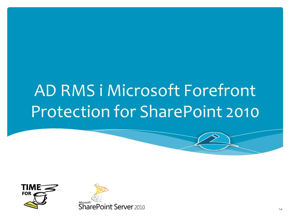 AD RMS i Microsoft Forefront Protection for SharePoint 2010
