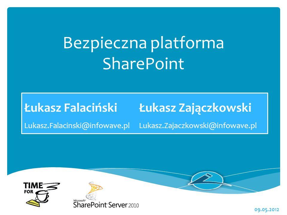Bezpieczna platforma SharePoint