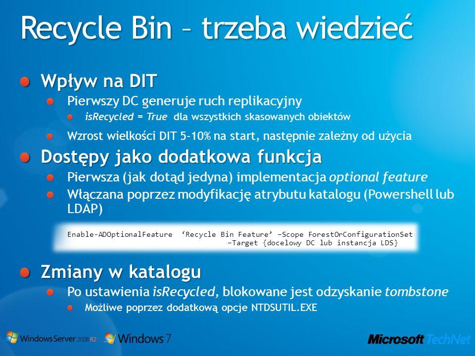 Recycle Bin – trzeba wiedzieć