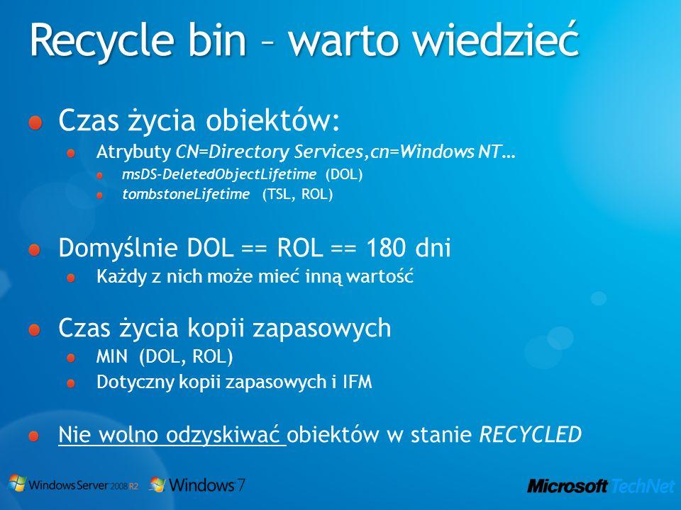 Recycle bin – warto wiedzieć