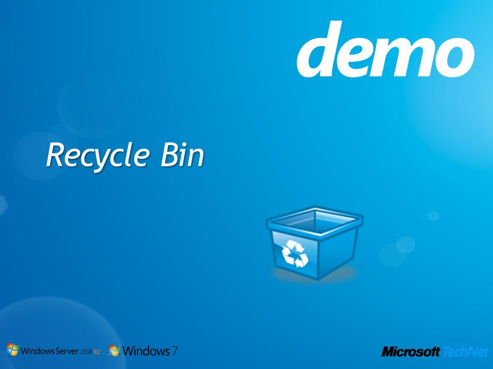 demo Recycle Bin