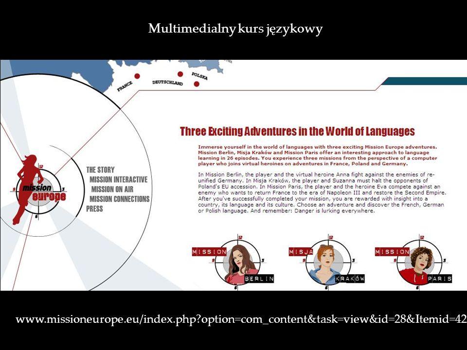 Multimedialny kurs językowy