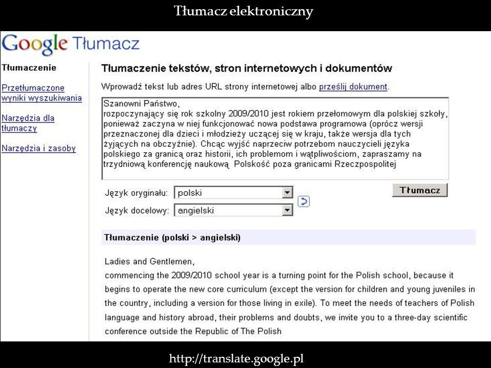 Tłumacz elektroniczny