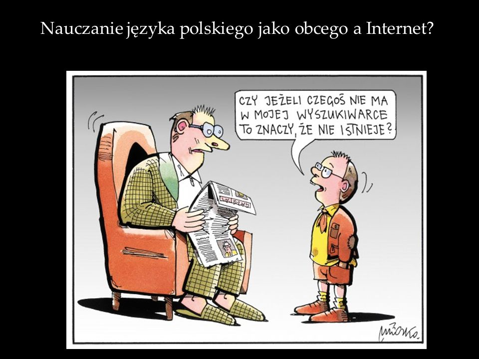 Nauczanie języka polskiego jako obcego a Internet
