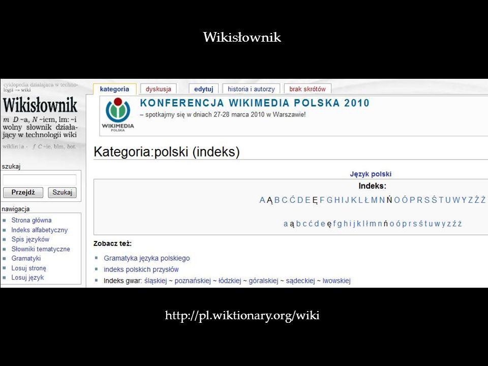 v Wikisłownik http://pl.wiktionary.org/wiki/