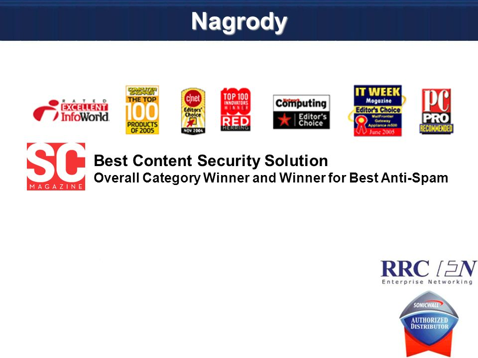 Nagrody Best Content Security Solution