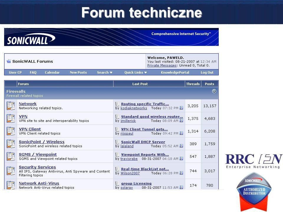 Forum techniczne