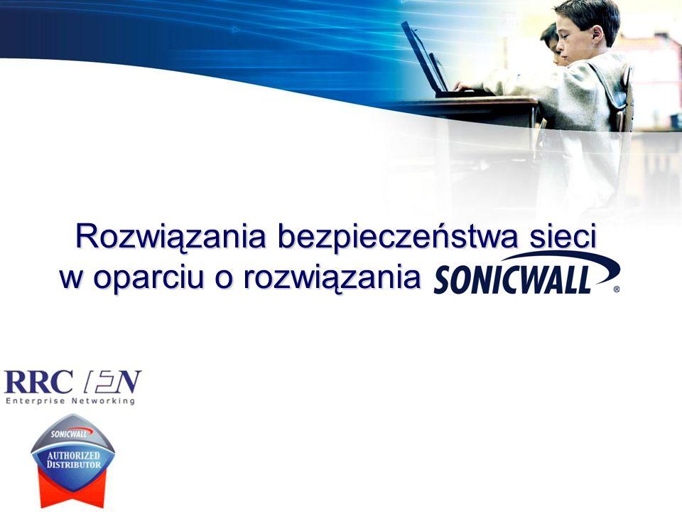 Rozwiązania bezpieczeństwa sieci w oparciu o rozwiązania SonicWALL