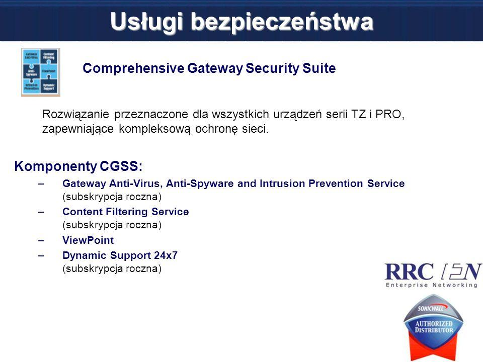 Usługi bezpieczeństwa