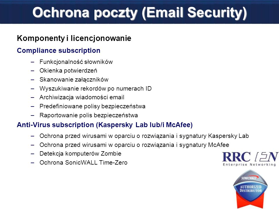 Ochrona poczty (Email Security)