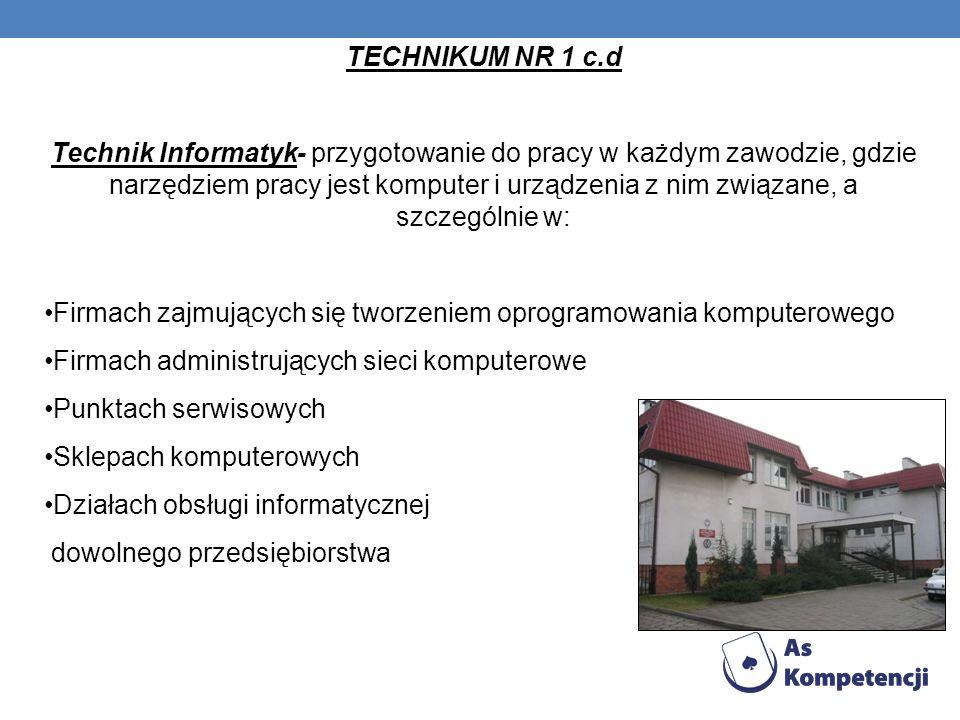 TECHNIKUM NR 1 c.d