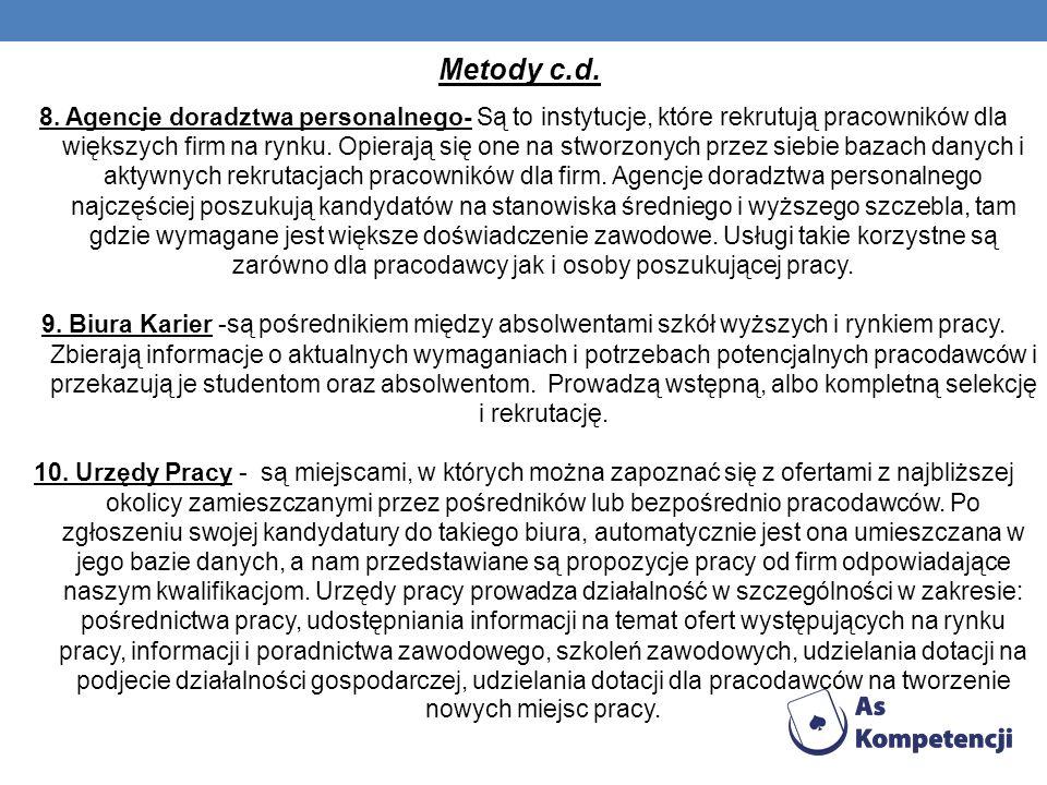 Metody c.d.
