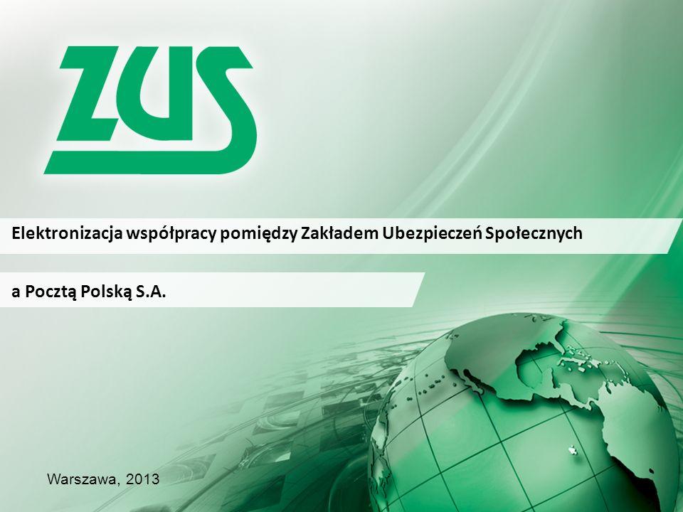 Elektronizacja współpracy pomiędzy Zakładem Ubezpieczeń Społecznych