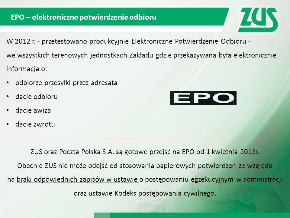 EPO – elektroniczne potwierdzenie odbioru