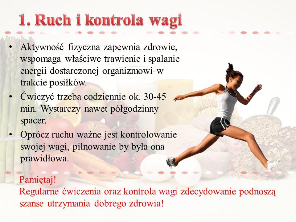 1. Ruch i kontrola wagi