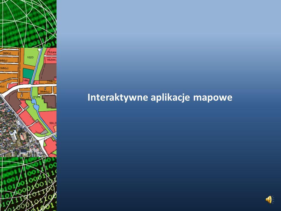 Interaktywne aplikacje mapowe