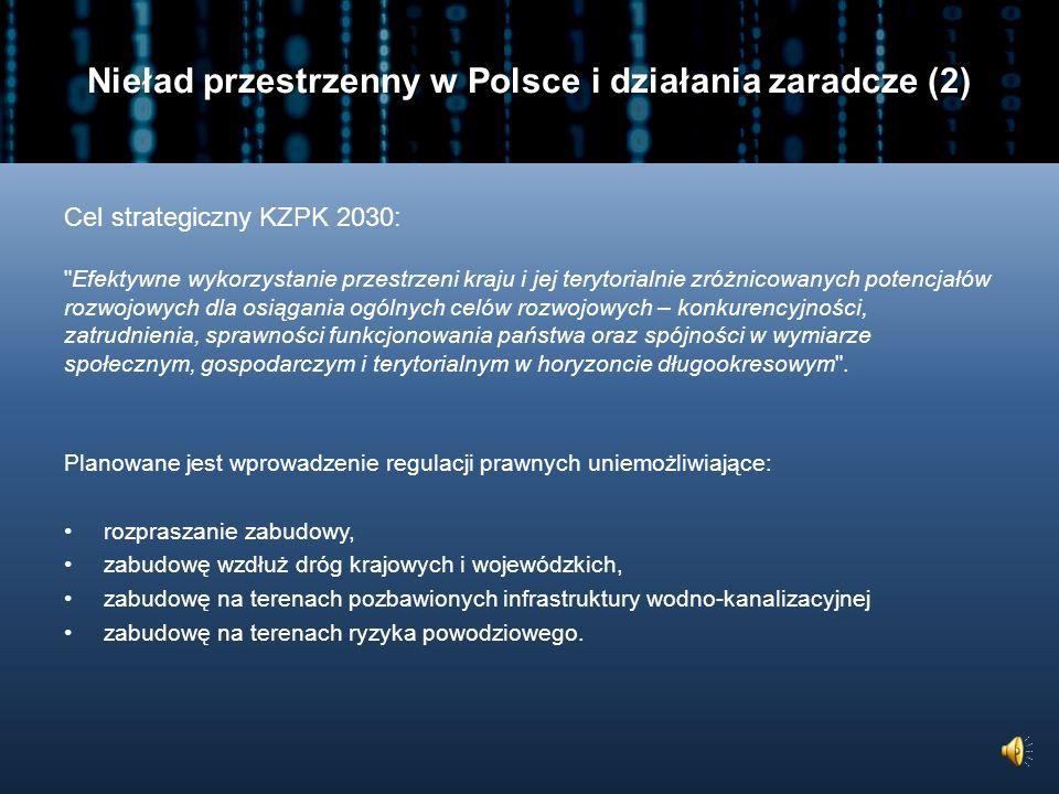 Nieład przestrzenny w Polsce i działania zaradcze (2)