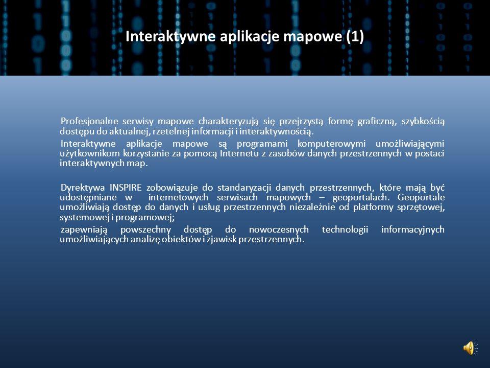 Interaktywne aplikacje mapowe (1)