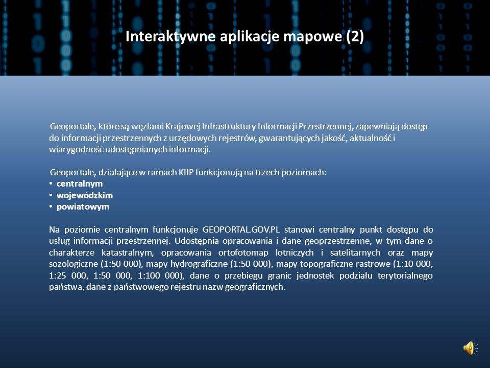 Interaktywne aplikacje mapowe (2)