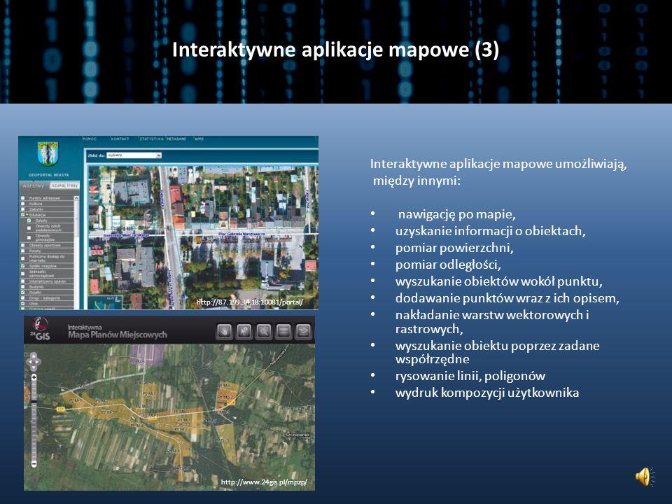 Interaktywne aplikacje mapowe (3)