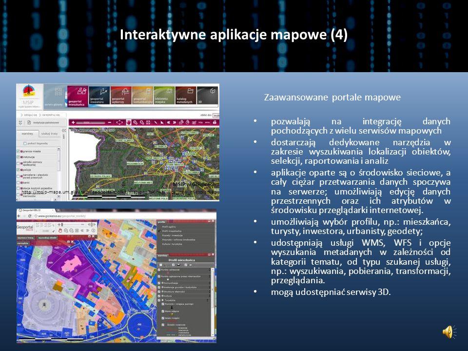 Interaktywne aplikacje mapowe (4)