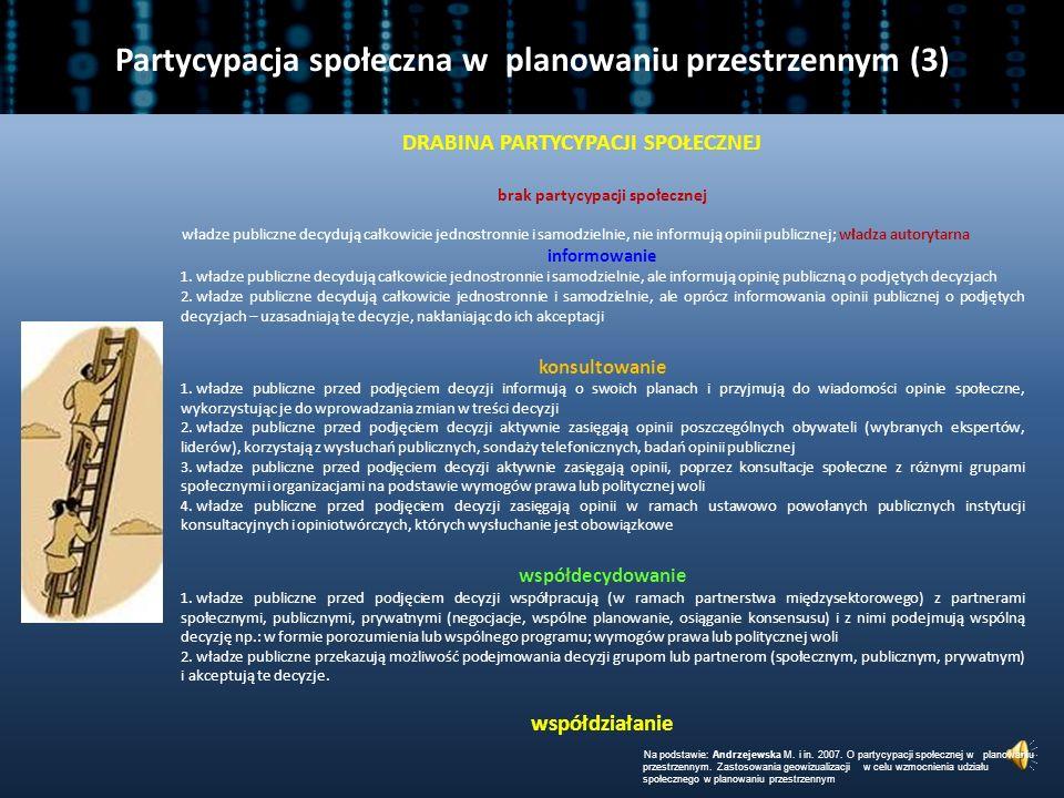 Partycypacja społeczna w planowaniu przestrzennym (3)