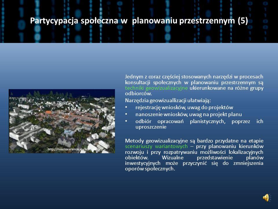 Partycypacja społeczna w planowaniu przestrzennym (5)