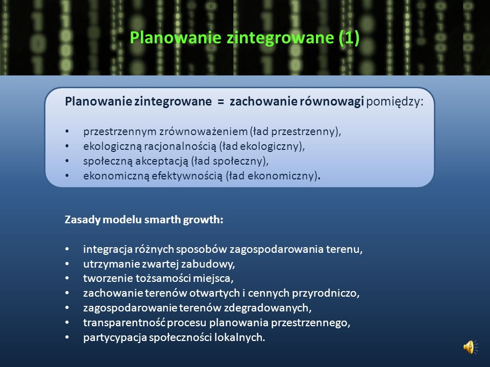 Planowanie zintegrowane (1)