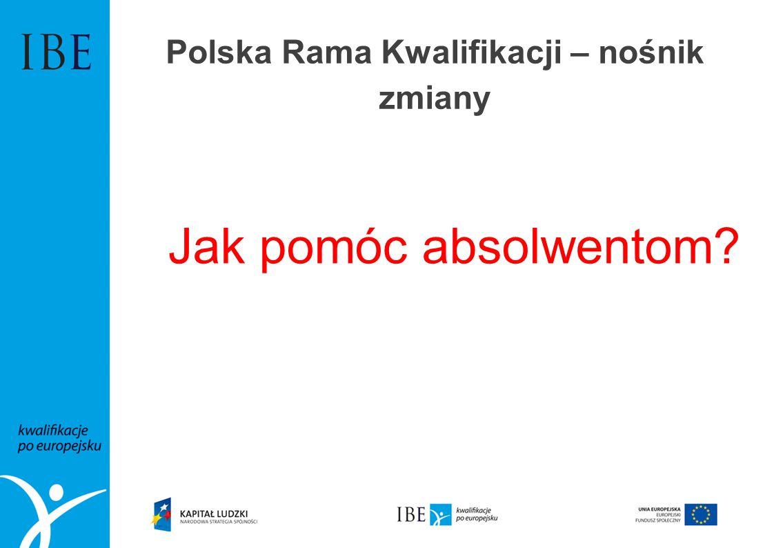 Polska Rama Kwalifikacji – nośnik zmiany