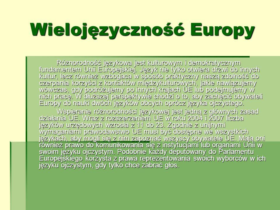 Wielojęzyczność Europy