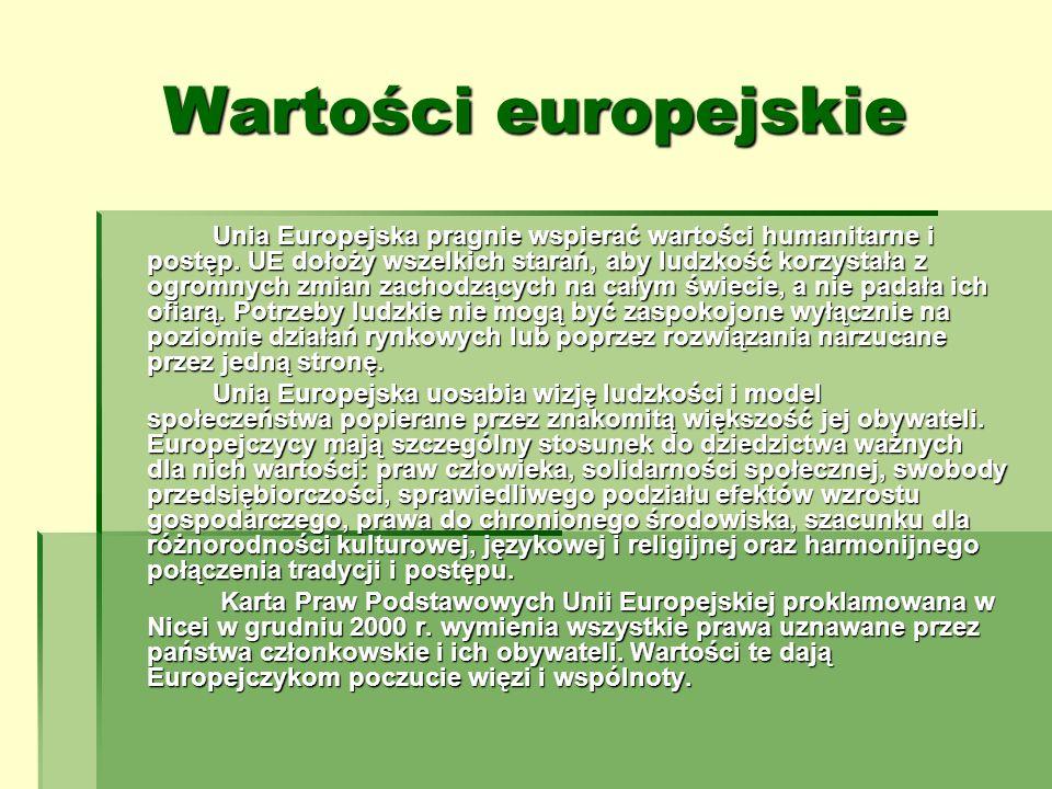 Wartości europejskie