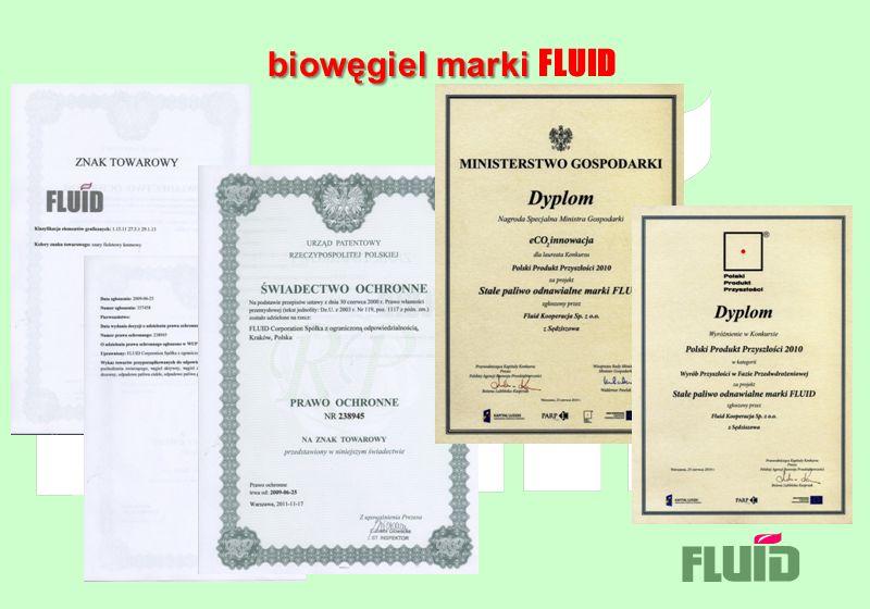 biowęgiel marki FLUID