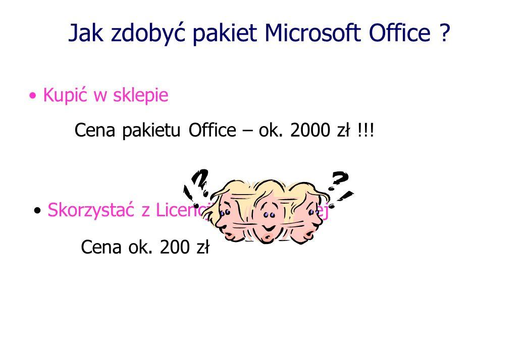 Jak zdobyć pakiet Microsoft Office