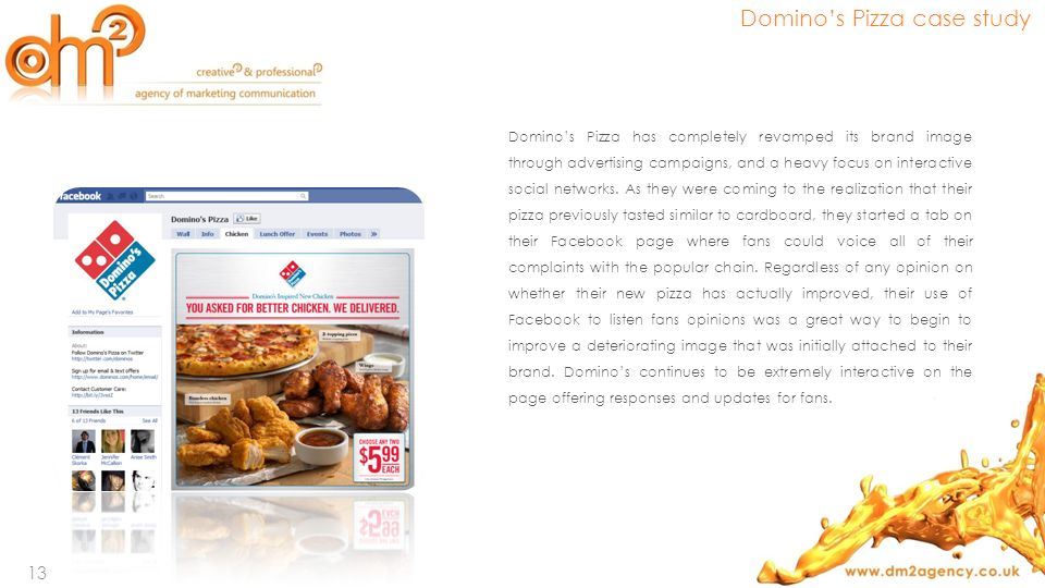 Domino's Pizza case study
