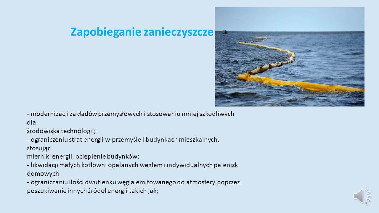 Zapobieganie zanieczyszczeniom wód