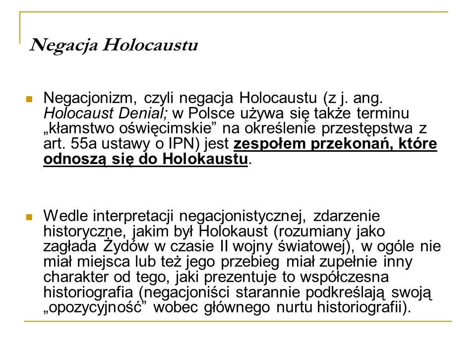 Negacja Holocaustu