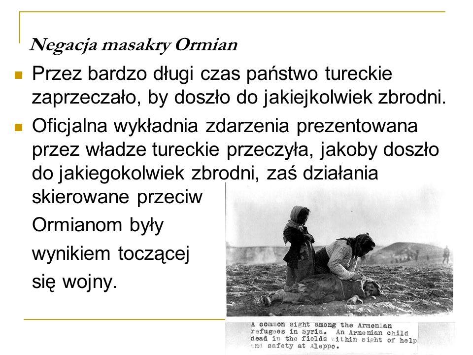 Negacja masakry Ormian